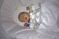 Baby Remzi 3 weeks old